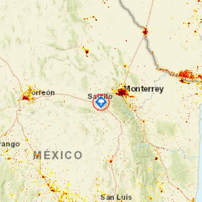Storms Saltillo Mexico Pdc Hazard Information